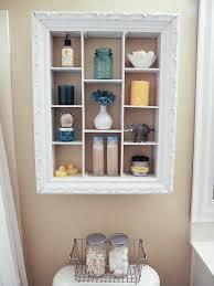 wandregal badezimmer wandregal im shabby stil aus bilderrahmen selber bauen 14 ideen