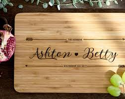 cutting board personalized personalized cutting board etsy