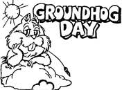 groundhogs coloring pages free coloring pages