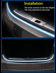 car lighting installation near me keen tailgate signal light strip turn signal tail led moving flash