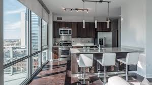 the bowie austin apartment floor ceiling windows downtown to