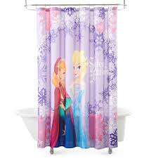 Disney Shower Curtains by Princess Shower Curtains Shower Curtain Rod