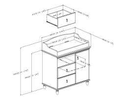 Standard Changing Table Height Standard Changing Table Height Standard Changing Table Height
