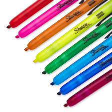 review of sharpie accent retractable highlighters 8 ct