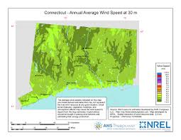 Windexchange connecticut 30 meter residential scale wind resource map