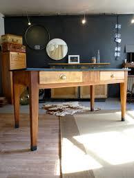 table de cuisine ancienne style bistrot meubles et rangements par