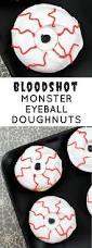 eyeball decorations halloween creepy halloween bloodshot monster eyeball doughnuts
