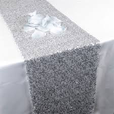 white and silver table runner table runners awesome silver table runners high resolution wallpaper