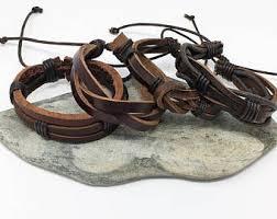 bracelet men leather images Men leather bracelet etsy jpg