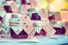 home made baby shower decorations vintage book theme baby shower homemade jam favors my parties