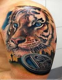 guys 3d tiger tattoos with flowers 3d white tiger tattoo designs