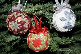 quilted ornaments the ornament