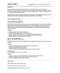 marketing resume format free marketing resume templates medicina bg info
