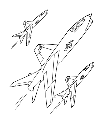 planes aircraft coloring pages planes jets coloring