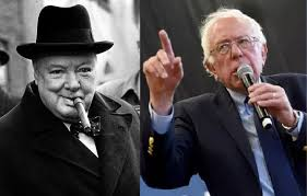 Winston Churchill Iron Curtain Speech Socialist Bernie Sanders Delivers Policy Speech At Campus Of