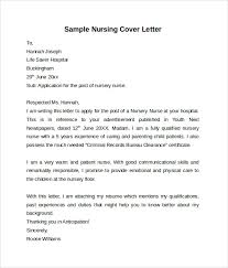cover letter examples for labor and delivery nurses