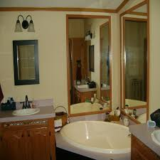Single Wide Mobile Home Kitchen Remodel Ideas Remarkable Mobile Home Bathroom Renovation Within Bathroom Double