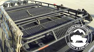 2004 Tacoma Roof Rack by Overland Bound Roof Rack Review Youtube