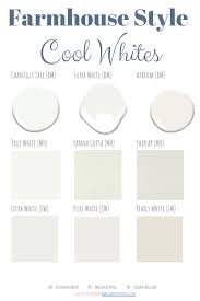 best sherwin williams white paint colors for kitchen cabinets the best cool white paint colors hammers n hugs