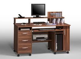 Schreibtisch Dunkelbraun Schreibtisch Massiv Walnuss Carprola For