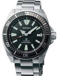 bracelet black metal images Seiko samurai prospex automatic dive watch with black dial and jpg