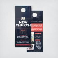church door hangers general invitation