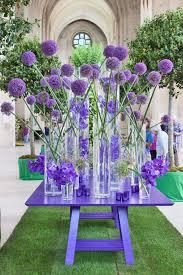 modern purple flower arrangement we this moncheribridals com