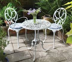 metal patio table and chairs useful metal garden furniture pinteres