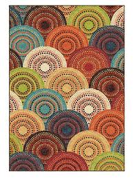 Area Rug Sizes Amazon Com Area Rug Contemporary Style Multi Color Carpet Red