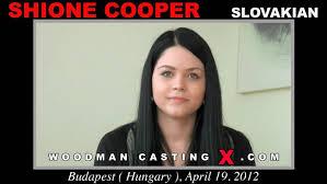 Shione Cooper Woodman Casting X
