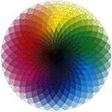 color spectrum puzzle amazon com 1000 colors jigsaw puzzle cmyk gradient clemens