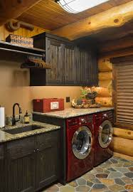 Country Laundry Room Decor Prairie Lake Home Rustic Laundry Room Minneapolis By Lake