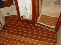 Teak And Holly Laminate Flooring Interior Decking C Flor By Nuteak Tampa Bay Yacht Masterstampa