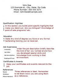 bartender resume skills best business template