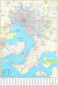 Lara Maps Melbourne Wall Map By Ubd Buy Wall Map Of Melbourne Mapworld
