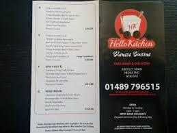 hello kitchen takeaway hedge end restaurant reviews