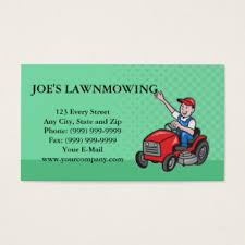 Mowing Business Cards Lawnmowers Business Cards U0026 Templates Zazzle