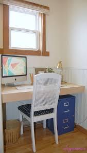 Diy Built In Desk by Built In Desk Diy Diy Builtin Desk Tutorial Sweethaute