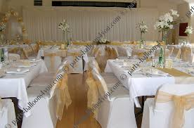 diy wedding chair covers cheap wedding chair cover hire diy from 1 75 party balloons 4