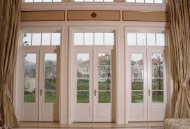 decor french door design ideas and transom windows with curtain