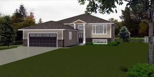 bi level house plans with attached garage house bi level house plans