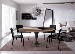 elise circular dining table extendable yumanmod