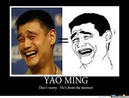 Meme Ming - famous yao ming by djui256 meme center