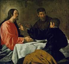 the supper at emmaus velázquez diego rodríguez de silva y