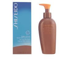 amazon com shiseido brilliant bronze quick self tanning gel for
