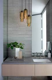 Modern Bathroom Lights Bathroom Ideas Gold Pendant Modern Bathroom Lighting Above Small