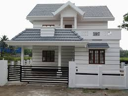 low budget luxury villa in main road side for sale in angamaly