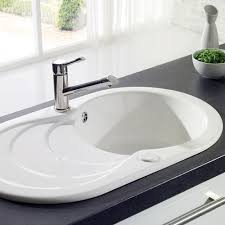 Kitchen Sink Ceramic Ceramic Kitchen Sinks Home Design Styles - Double ceramic kitchen sink
