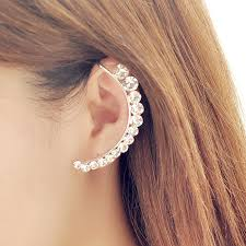 ear cuff earrings 2015 new fashion design gold ear cuff earring gorgeous