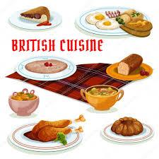 britische küche küche frühstück symbol für ü design stockvektor 127242538